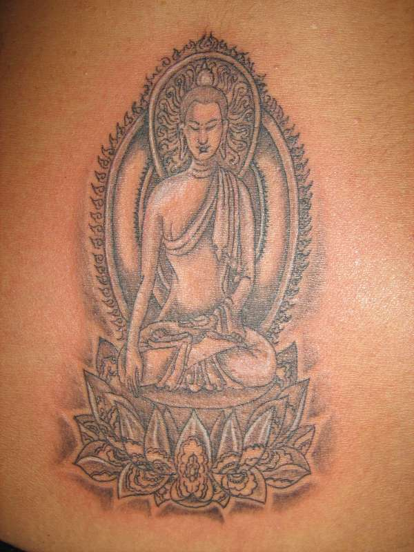 Buddha Tattoo Designs.6