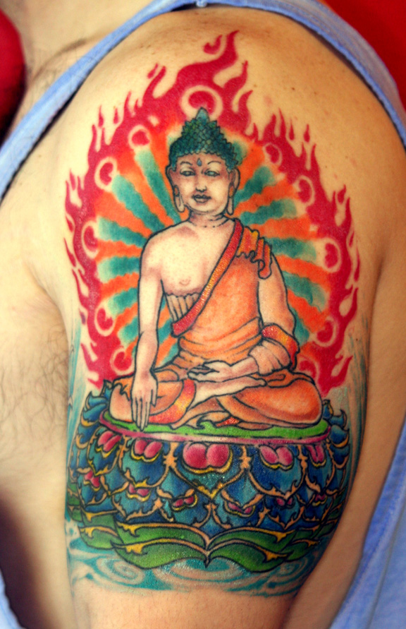 Buddha Tattoo Designs.8