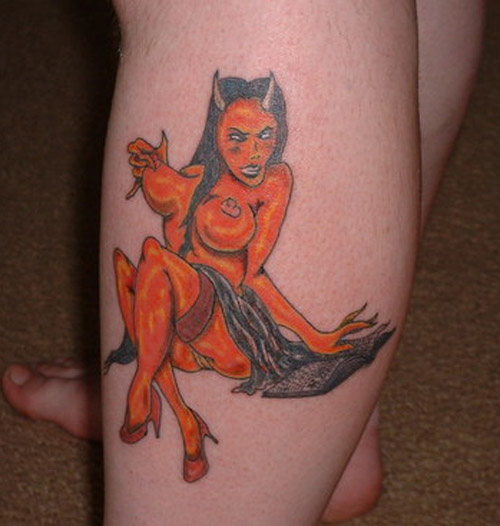 Devil Tattoos Designs.14