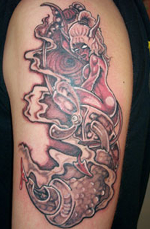 Devil Tattoos Designs.18