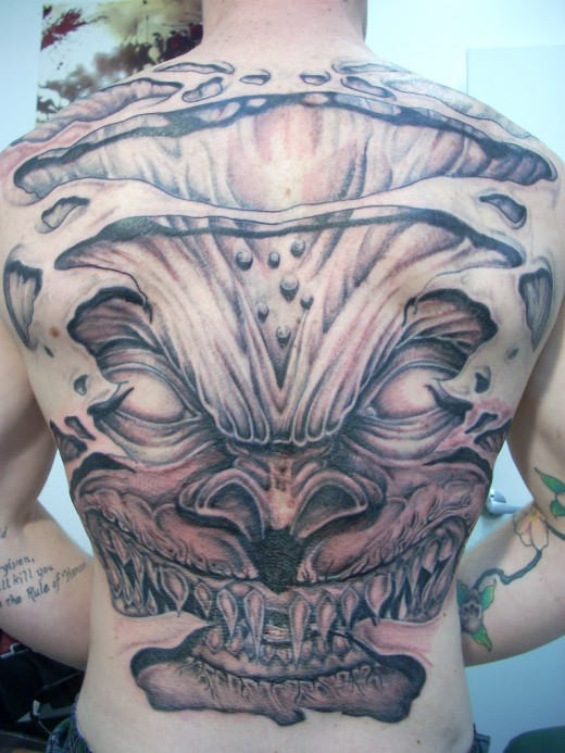 Devil Tattoos Designs.37