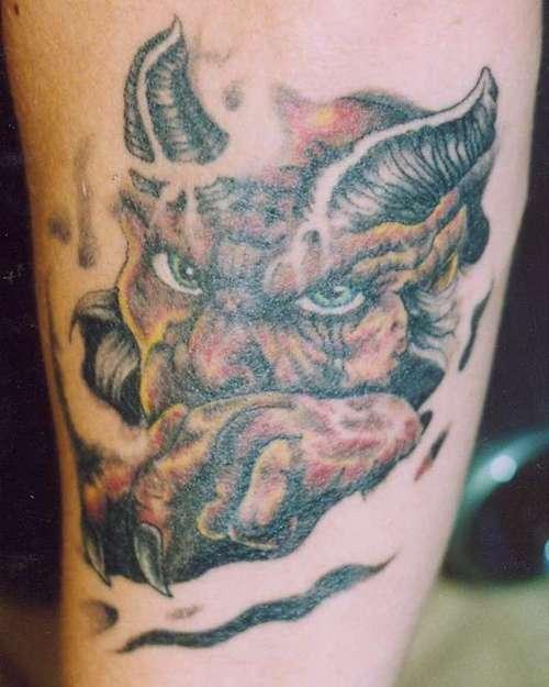 Devil Tattoos Designs.39