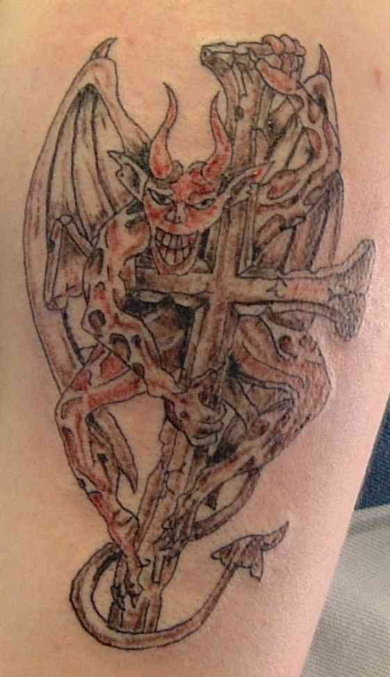 Devil Tattoos Designs.7
