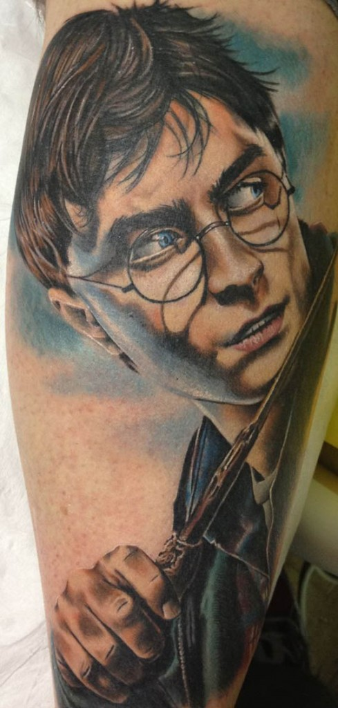 Harry Potter Tattoos.11