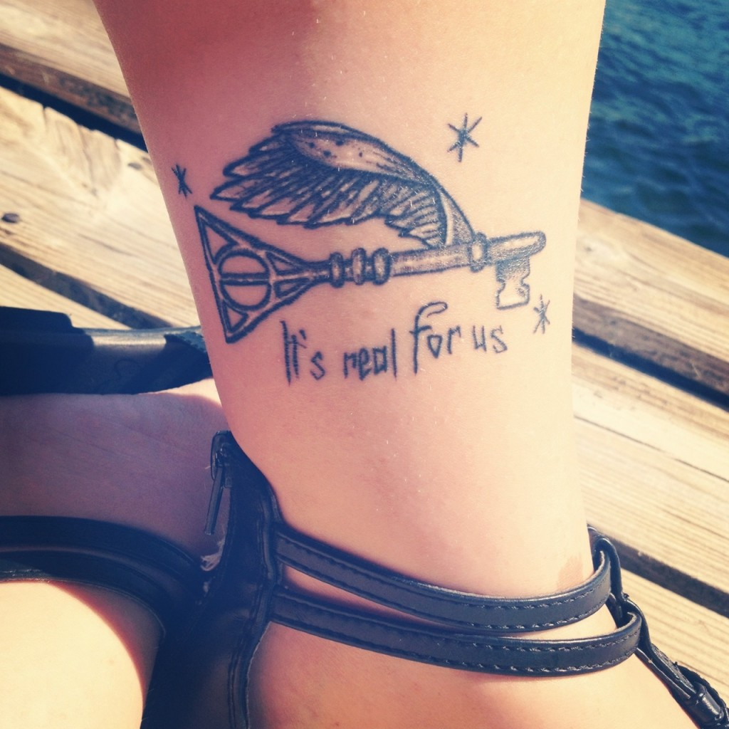 Harry Potter Tattoos.13