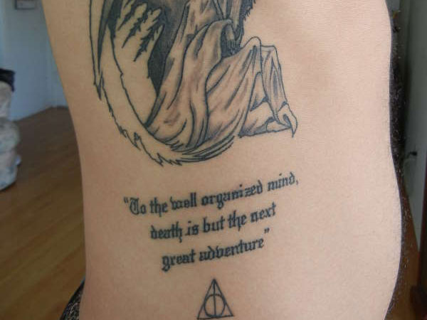 Harry Potter Tattoos.16