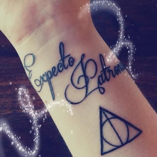 Harry Potter Tattoos.21