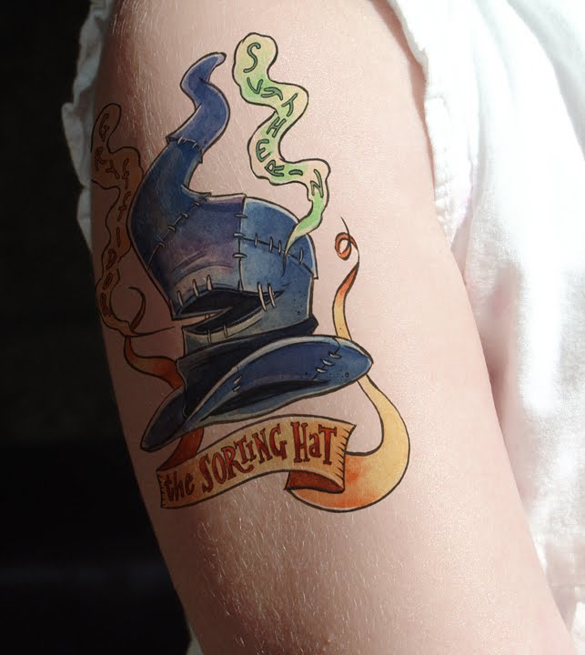 Harry Potter Tattoos.28