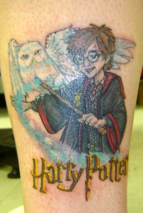 Harry Potter Tattoos.31