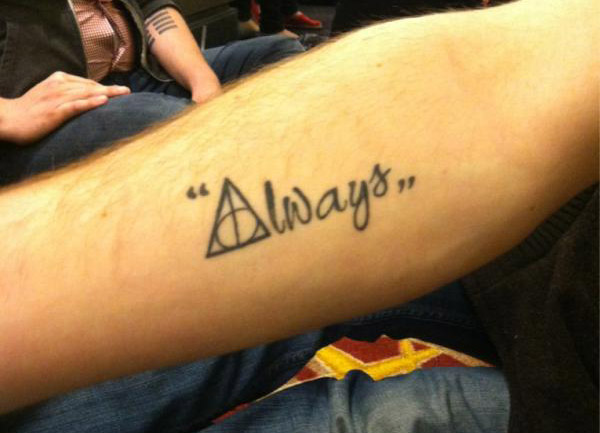 Harry Potter Tattoos.9