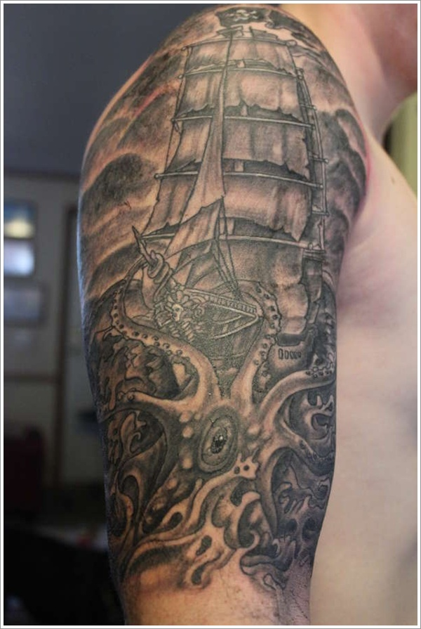 Nautical Tattoo Designs.11