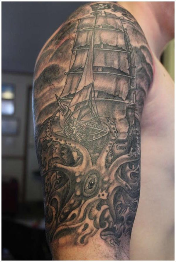 Nautical Tattoo Designs.11
