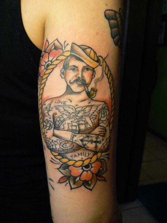Nautical Tattoo Designs.25
