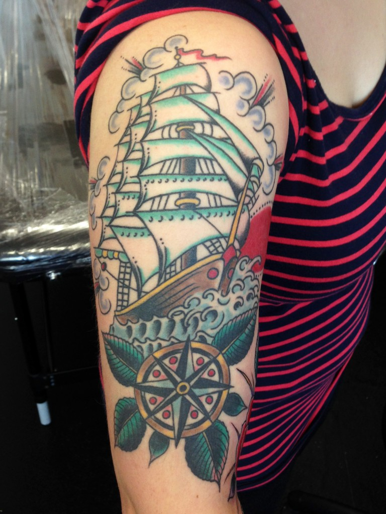 Nautical Tattoo Designs.28