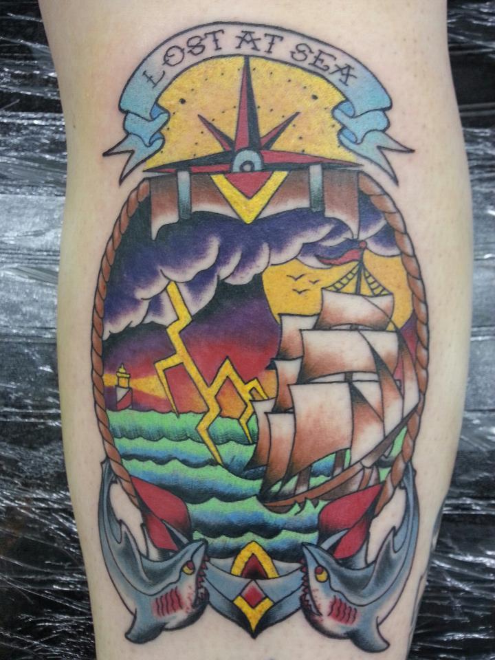 Nautical Tattoo Designs.29