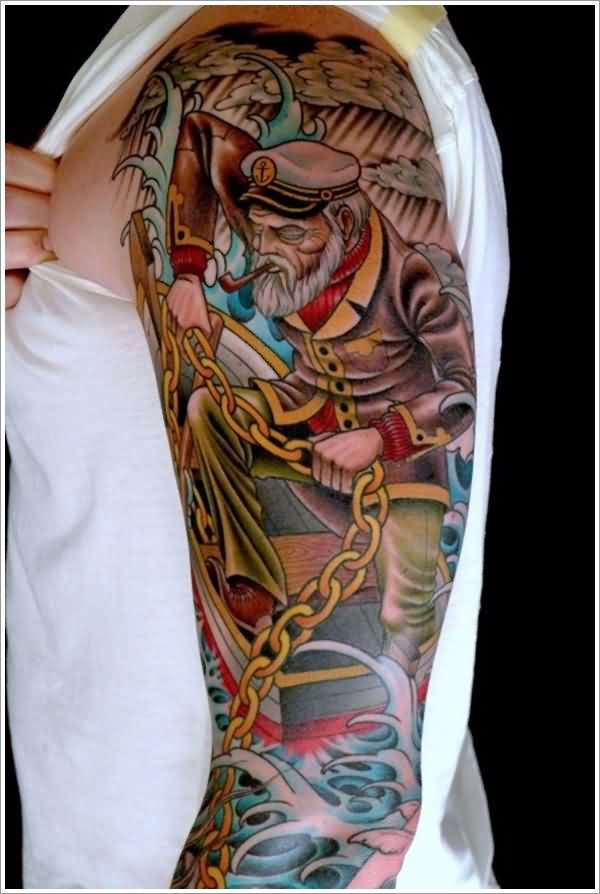 Nautical Tattoo Designs.4