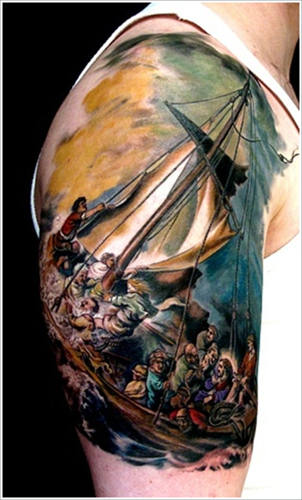 Nautical Tattoo Designs.43
