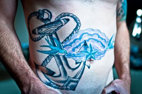 Nautical Tattoo Designs.46