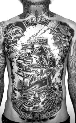 Nautical Tattoo Designs.47
