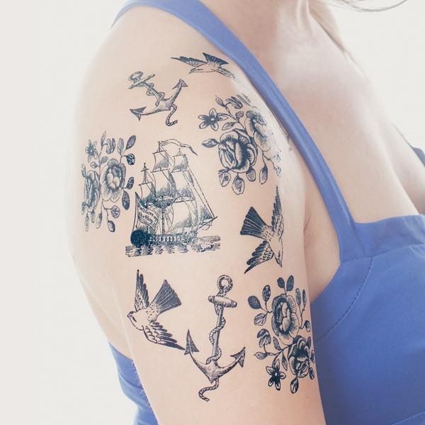 Nautical Tattoo Designs.7