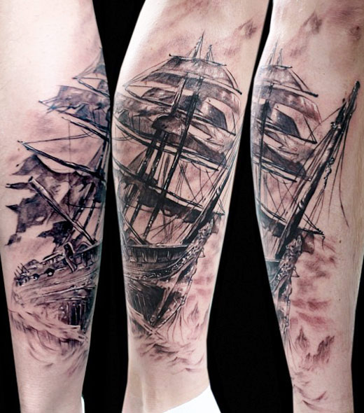 Nautical Tattoo Designs.8