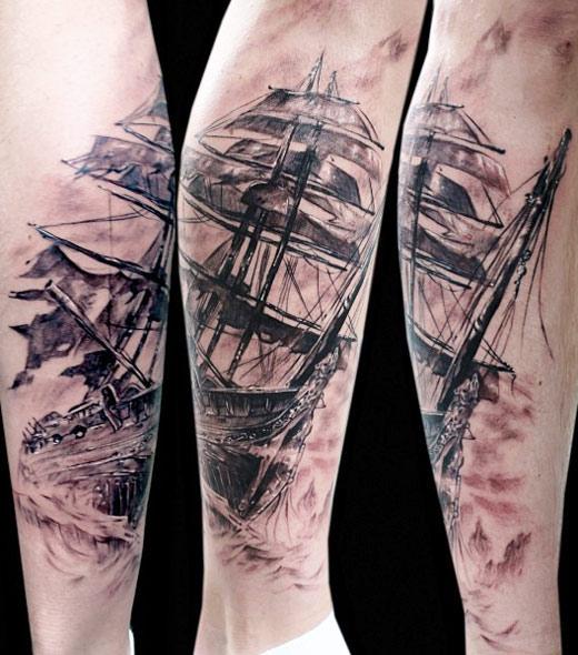 Nautical Tattoo Designs.8