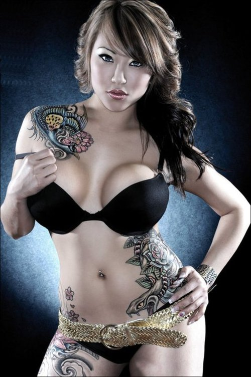 Beautiful Tattoos for Girls.12
