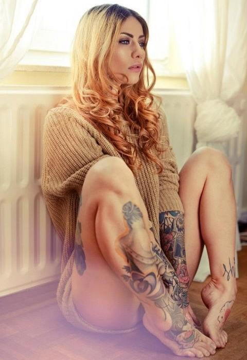 Beautiful Tattoos for Girls.50