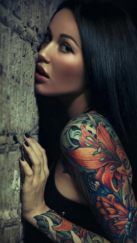 Beautiful Tattoos for Girls.8