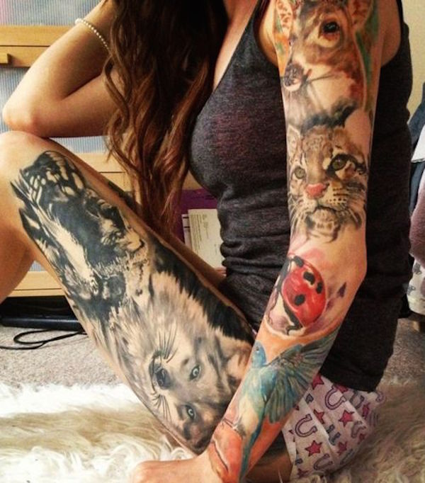 Thigh Tattoos for Women.12