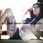 Thigh Tattoos for Women.91