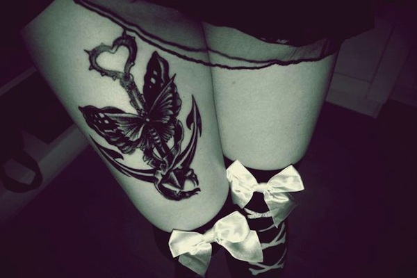 Thigh Tattoos for Women.99