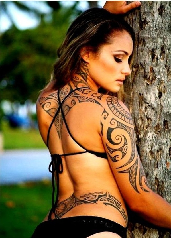Tribal Tattoos for Women.18