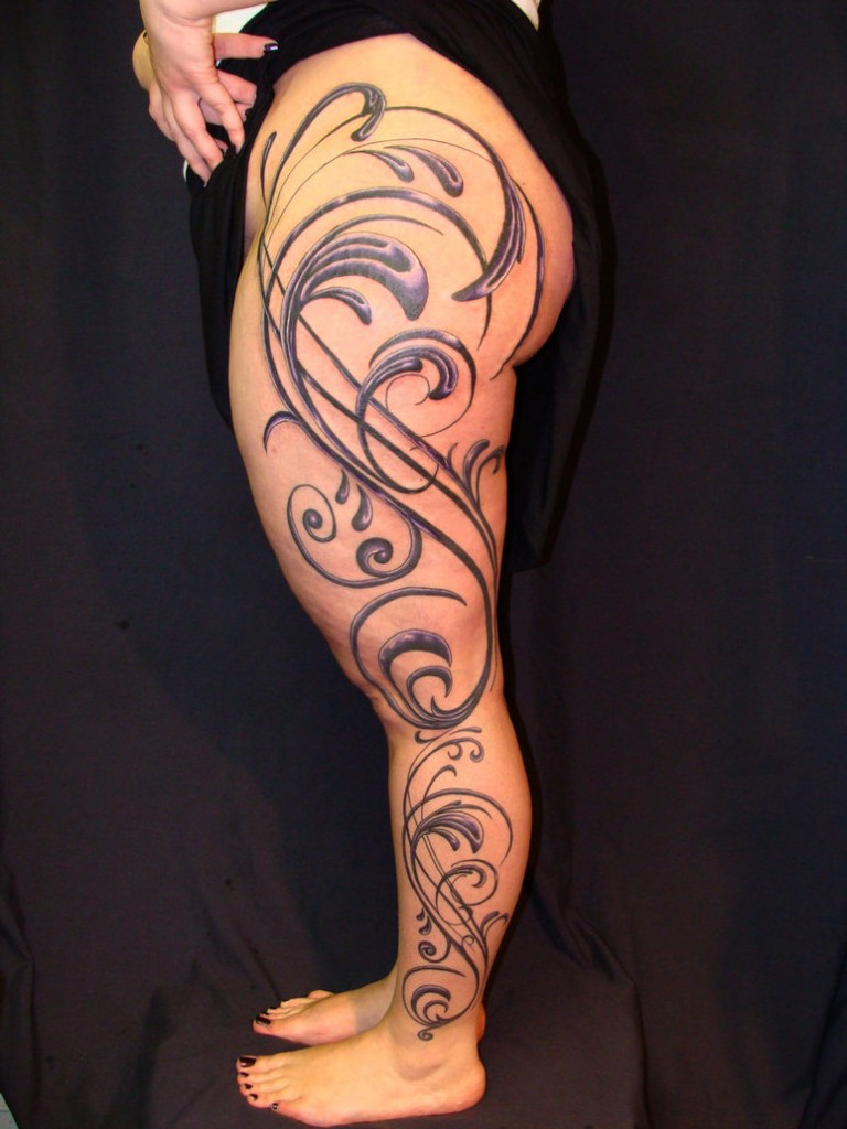 Tribal Tattoos for Women.41