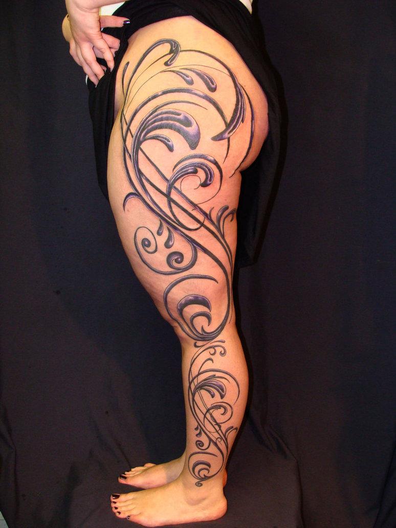 Feminine Tribal Tatto: 60 Tribal Tattoos For Women In Vogue 2016