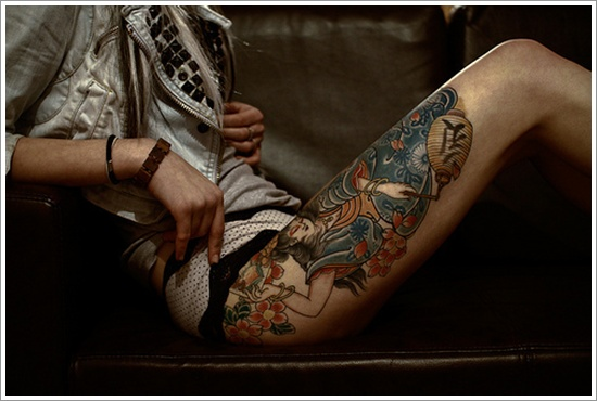 Tribal Tattoos for Women.46