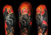 Creative Devil Tattoos