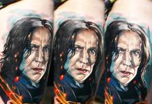 Severus Snape Tattoo
