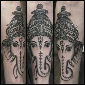 Ganesh Tattoo 1