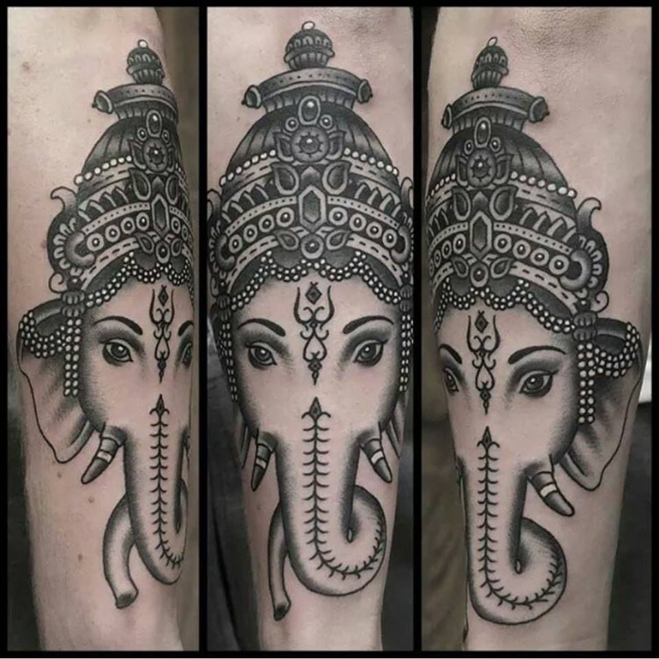 The 30 Best Lord Ganesha Tattoo Designs And Ideas