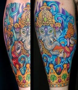 Ganesh Tattoo 11