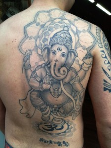 Ganesh Tattoo 25