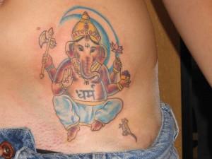 Ganesh Tattoo 29