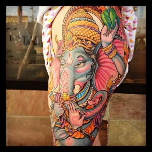 Ganesh Tattoo