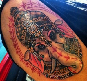 Ganesh Tattoo 7
