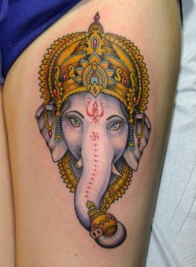 Ganesh Tattoo 9