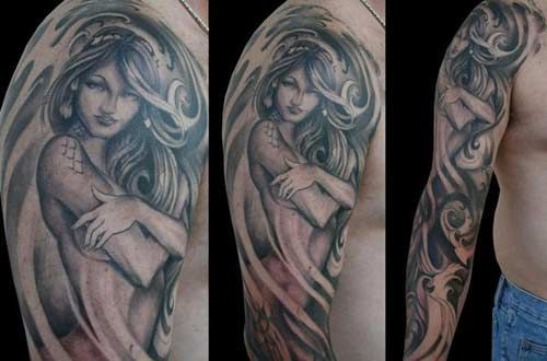 Mermaid Tattoo Designs.31