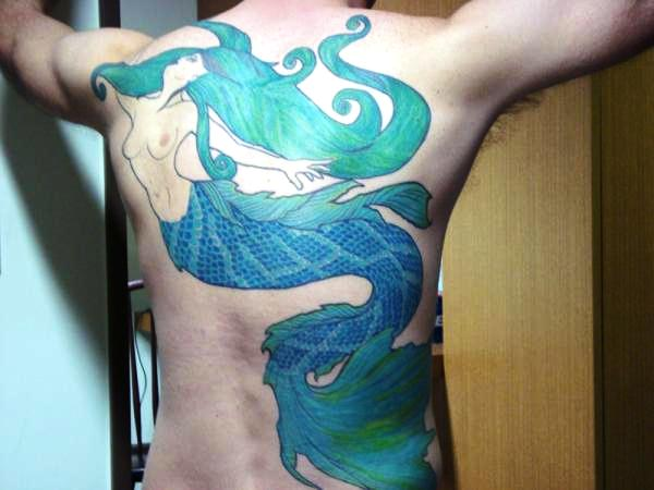 Mermaid Tattoo Designs.37