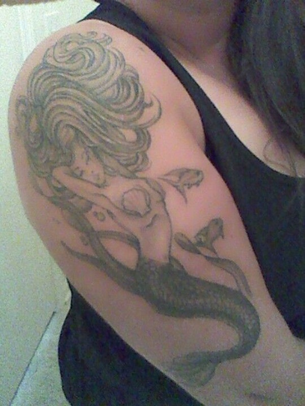 50 Stylish Mermaid Tattoo Designs And Ideas