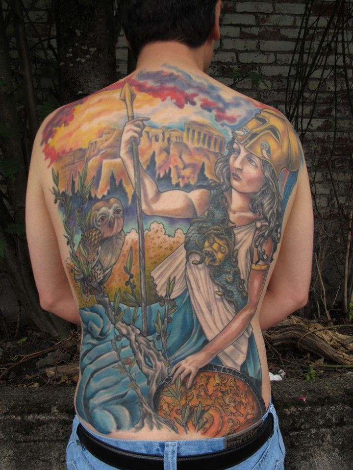 Mythological Tattoo Designs.20